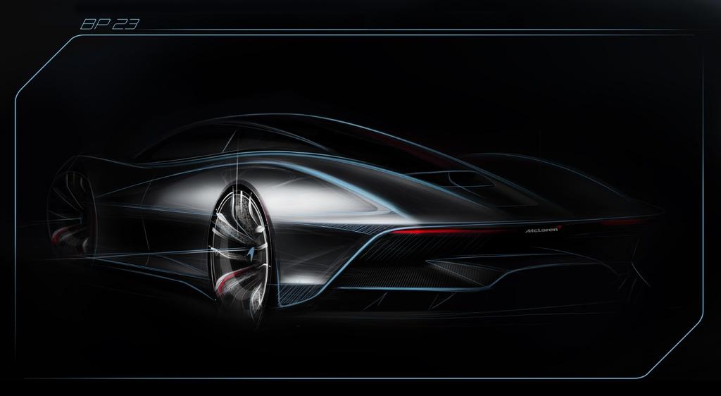 McLaren Hyper GT sketch released