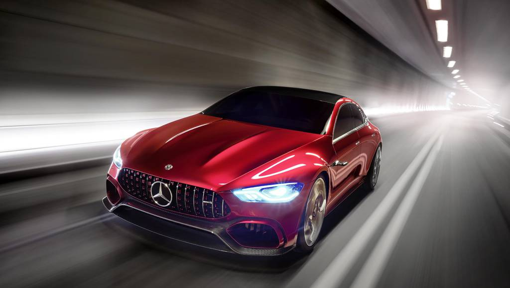 Mercedes AMG GT Concept revealed in Geneva
