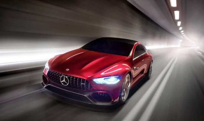 Mercedes AMG GT Concept revealed in Geneva