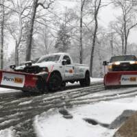 Pornhub is helping Boston and New Jersey authorities to clean up the snow with branded plows