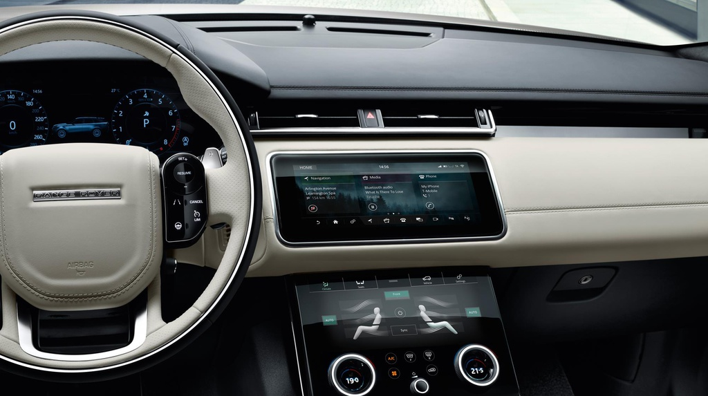 Range Rover Velar official photos and details
