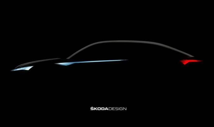 Skoda Vision E Concept previews the Kodiaq Coupe