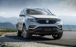SsangYong Rexton - First official pictures