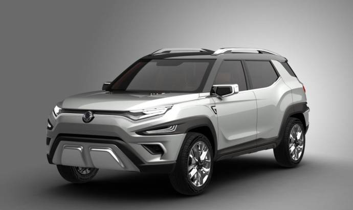 Ssangyong XAVL Concept introduced in Geneva