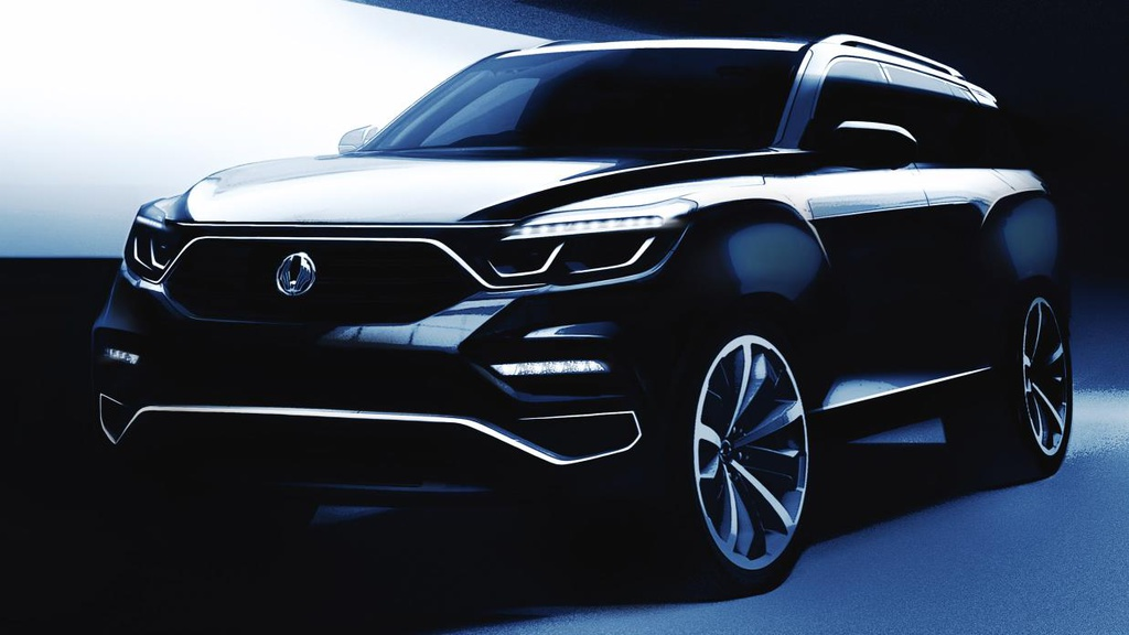 Ssangyong to unveil a big SUV in Seoul Motor Show