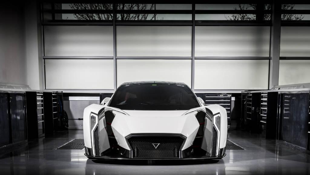Vanda Dendrobium Concept is a Formula 1 inspired hypercar