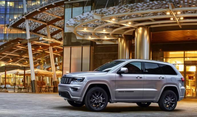 Jeep Grand Cherokee Night Eagle introduced in Geneva