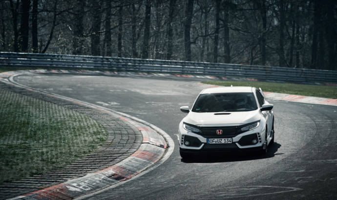 2017 Honda Civic Type R sets world record for FWD at the Nurburgring