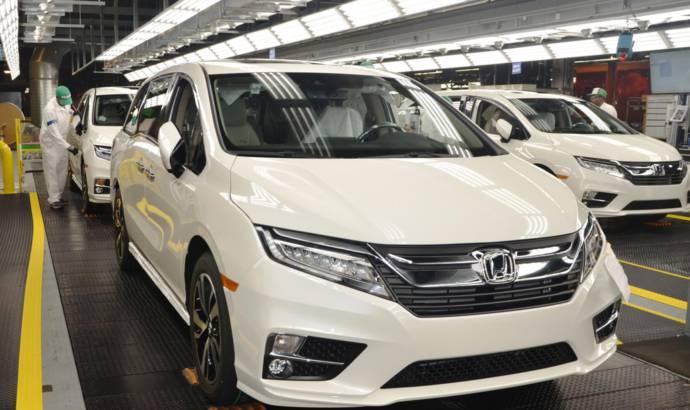 2018 Honda Odyssey enters production in Alabama