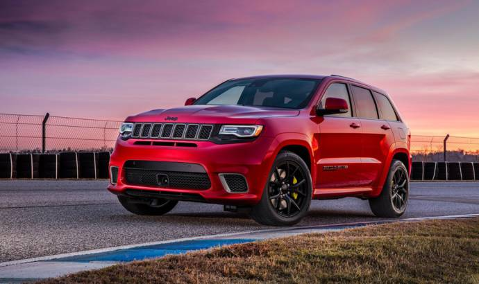 2018 Jeep Grand Cherokee Trackhawk has 707 HP and can do not to 60 mph in 3.5 seconds