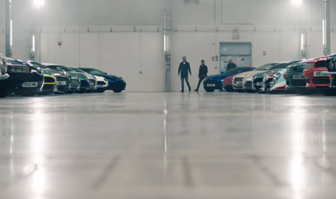 Aston Martin second UK factory invaded by classic cars