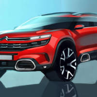 Citroen C-Aircross Concept to be showcased in Shanghai