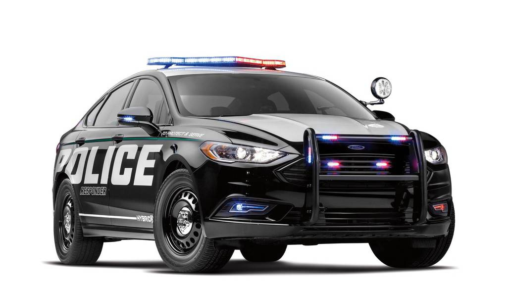 Ford Police Responder Hybrid Sedan unveiled