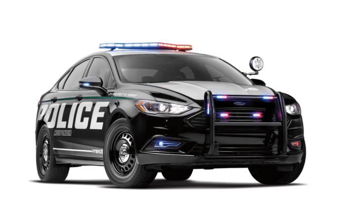 Ford Police Responder Hybrid Sedan unveiled