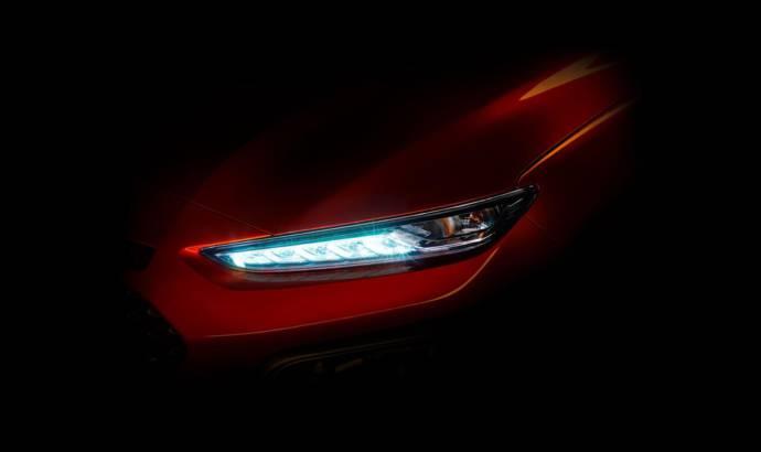 Hyundai Kona first teaser image revealed