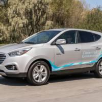 Hyundai Tucson Fuel-Cell achieves another milestone