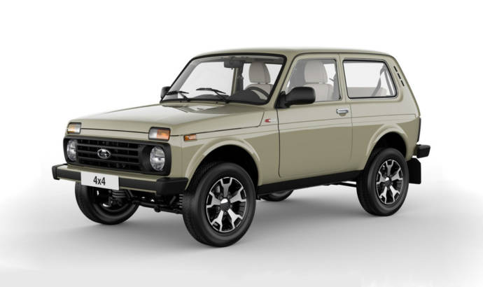Lada Niva 40th Anniversary edition - Official pictures and details