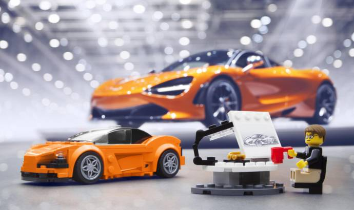 Lego McLaren 720S already created