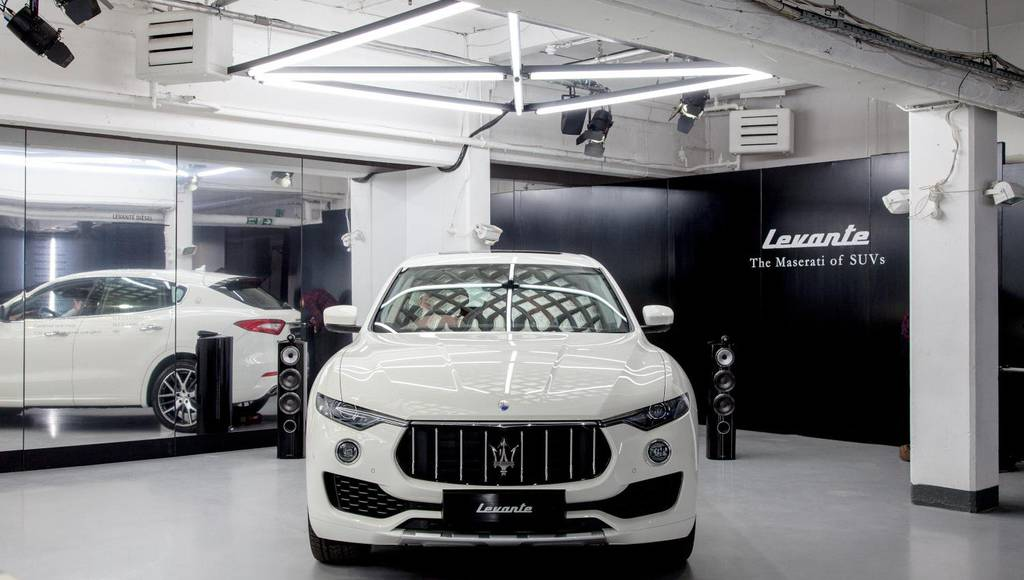 Maserati Levante now offered with petrol engine in UK