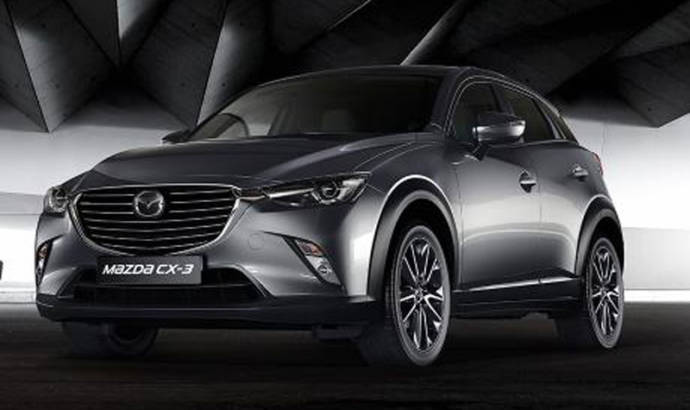 Mazda CX-3 GT Sport trim level introduce din UK