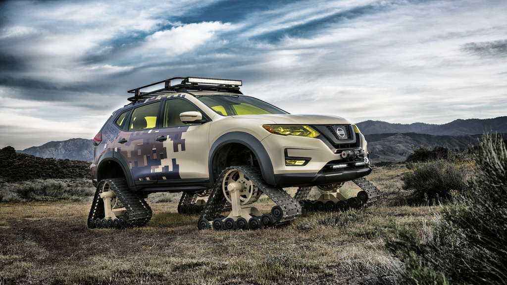 Nissan Rogue Warrior Trail project revealed