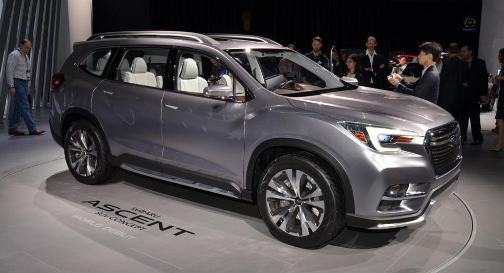 Subaru Ascent Concept previews a 3-row SUV