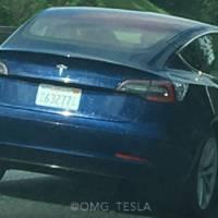 Tesla Model 3 - Spy videos