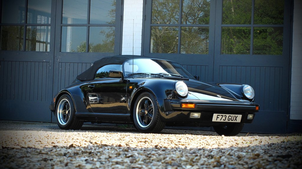 Very rare 1989 Porsche 911 Silverstone up for auction