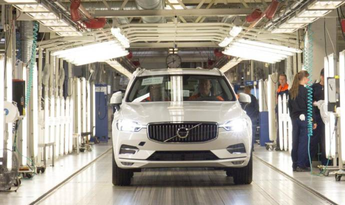 2017 Volvo XC60 enters production in Sweden