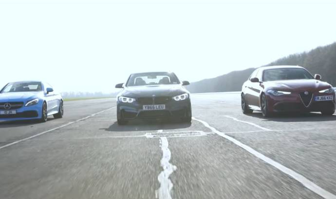 Alfa Romeo Giulia Quadrioglio vs. BMW M3 and AMG C63 S