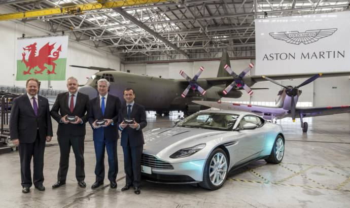 Aston Martin starts working on its new St Athan factory