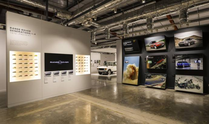 The Range Rover Story exhibition opens in Solihull