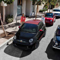2017 Fiat 500 is now available with modern exterior packages