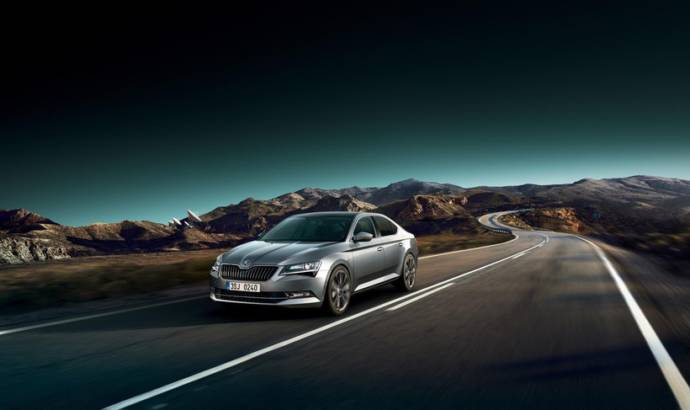 2017 Skoda Superb updated with new tech