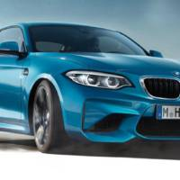 2018 BMW M2 facelift is on the official website