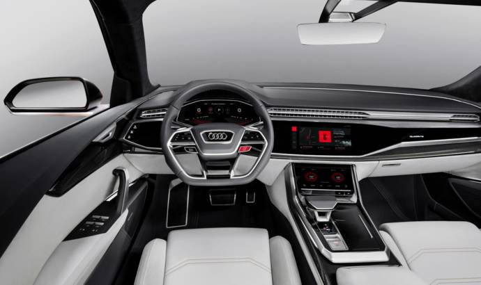Audi Q8 Sport Concept with Android operating system