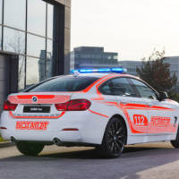 BMW 440i Gran Coupe, now in Ambulance clothes