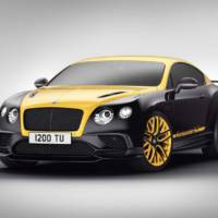 Bentley Continental 24 is paying tribute to motorsport
