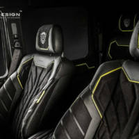 Carlex Design added some special equipment to the Brabus G500 4x4