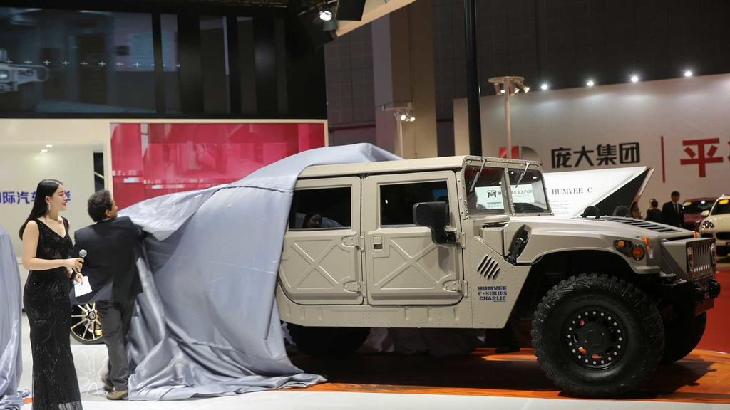 Hummer H1 is back in the game. Thanks to Bob Lutz