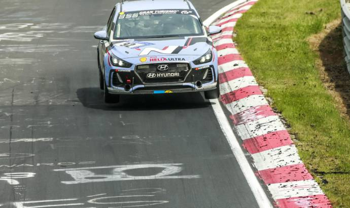 Hyundai i30N finished the 24-hours race at Nurburgring
