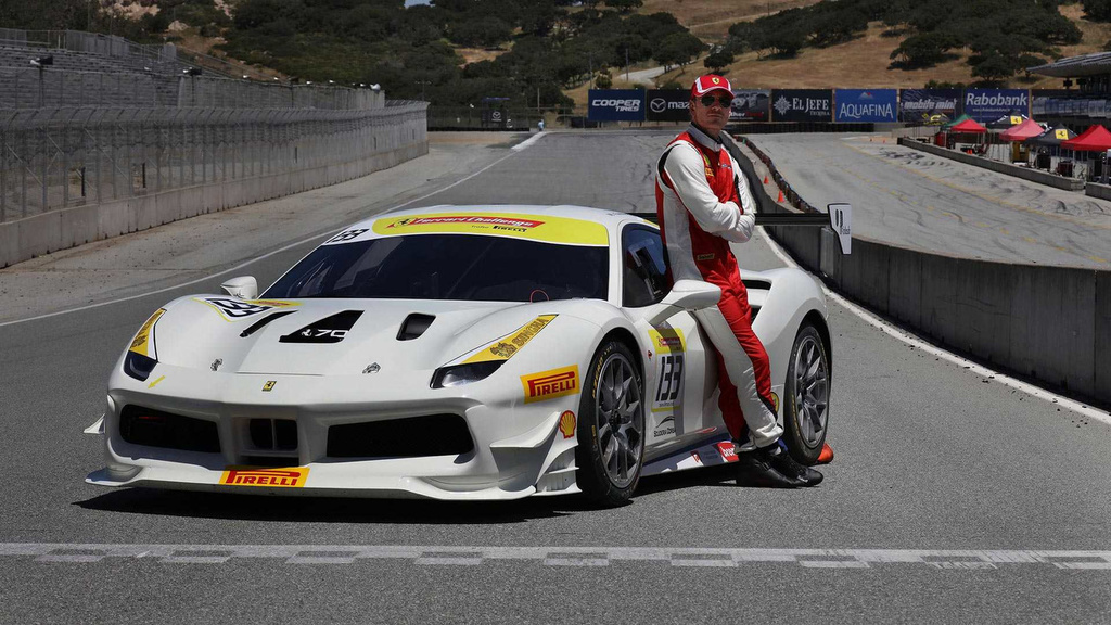 Michael Fassbender is now a racer