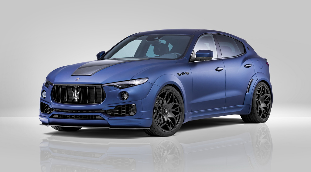 Novitec Estesso Maserati Levante tuning kit