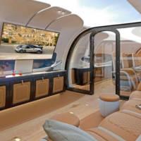 Pagani designed the cabin of a private Airbus
