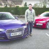 VIDEO: New Alfa Romeo Giulia vs Audi A4