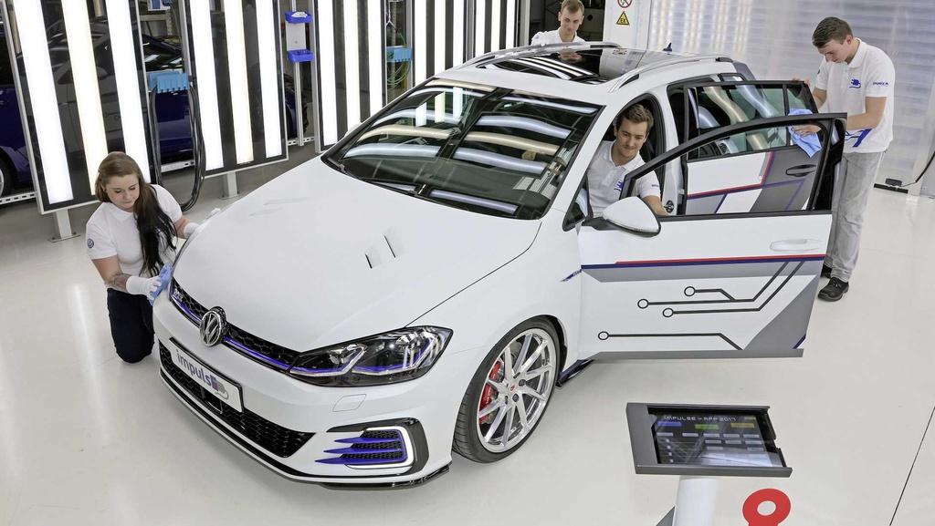 Volkswagen Golf Estate ImpulsE unveiled