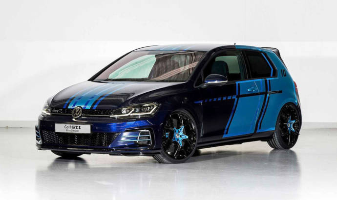 Volkswagen Golf GTI First Decade unveiled