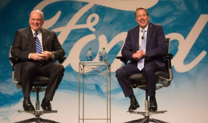 Jim Hackett was named as Ford Motor Company president and CEO