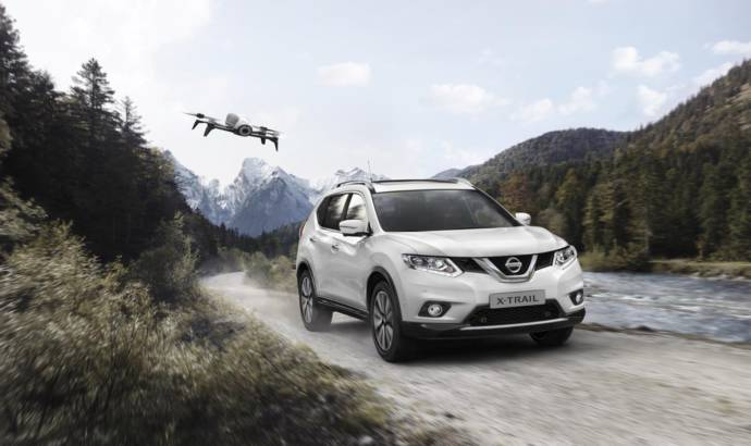 Nissan X-trail X-Scape comes with a drone