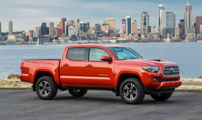 2016-2017 Toyota Tacoma recalled in US